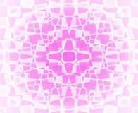 Teste padrão de estrela cor-de-rosa e branco Foto de Stock Royalty Free