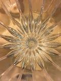 Teste padrão de estrela de cristal Fotografia de Stock Royalty Free