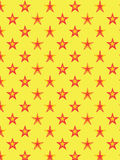 Teste padrão de estrela decorativo Fotografia de Stock Royalty Free
