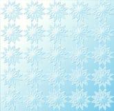 Teste padrão de estrela - luz - azul Foto de Stock Royalty Free