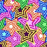 Teste padrão de estrela sem emenda Imagem de Stock