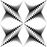 Teste padrão de estrela sem emenda CCB preto e branco do papel de envolvimento do vetor Foto de Stock Royalty Free