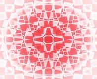 Teste padrão de estrela vermelho e branco Imagem de Stock Royalty Free
