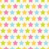 Teste padrão de estrelas Foto de Stock Royalty Free