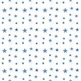 Teste padrão de estrelas da aquarela Fotos de Stock Royalty Free