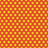 Teste padrão de estrelas pequeno Fotografia de Stock Royalty Free