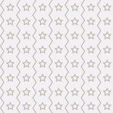 Teste padrão de estrelas sem emenda Imagens de Stock