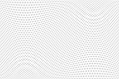 Teste padrão de estrelas Textura ondulada Fundo textured branco ilustração do vetor