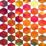 Teste padrão de fôrmas geométricas Fotografia de Stock Royalty Free