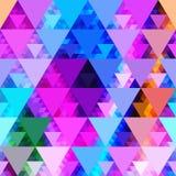 Teste padrão de fôrmas geométricas Imagem de Stock Royalty Free