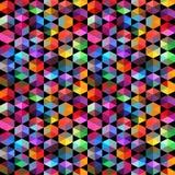 Teste padrão de fôrmas geométricas triângulos Fundo geométrico Imagens de Stock Royalty Free