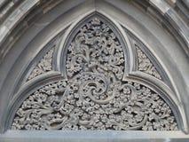 Teste padrão de Filligree na pedra Imagem de Stock Royalty Free