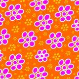 Teste padrão de flor [02] Fotos de Stock Royalty Free