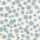 Teste padrão de flor 001 Fotografia de Stock
