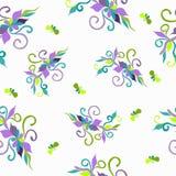Teste padrão de flor Ilustração Royalty Free
