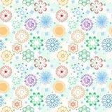 Teste padrão de flor [02] Imagens de Stock