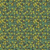Teste padrão de flor [02] Foto de Stock