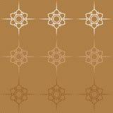 Teste padrão de flor [02] Fotografia de Stock Royalty Free