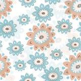 Teste padrão de flor Foto de Stock