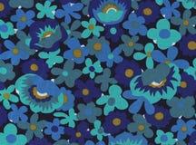 Teste padrão de flor abstrato. Imagem de Stock
