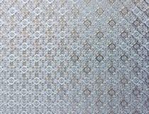 Teste padrão de flor branca imagem de stock
