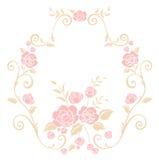 Teste padrão de flor cor-de-rosa Fotos de Stock