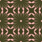 Teste padrão de flor cor-de-rosa Ilustração do Vetor
