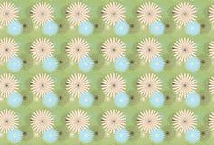 Teste padrão de flor da mola Fotografia de Stock Royalty Free
