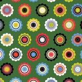 Teste padrão de flor de Seamsess Imagens de Stock Royalty Free