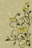 Teste padrão de flor decorativa Imagem de Stock Royalty Free