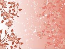 Teste padrão de flor decorativa Fotografia de Stock