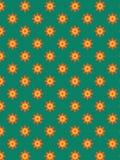 Teste padrão de flor decorativo Imagens de Stock