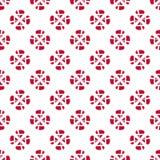 Teste padrão de flor dinamarquês da bandeira Imagem de Stock Royalty Free