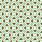 Teste padrão de flor do círculo Fotografia de Stock Royalty Free