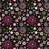 Teste padrão de flor do vetor ilustração stock