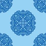Teste padrão de flor do vetor Fotos de Stock