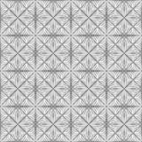 Teste padrão de flor entrelaçado geométrico sem emenda ilustração royalty free