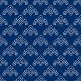 Teste padrão de flor estilizado Tatar Fotos de Stock