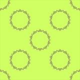 Teste padrão de flor estilizado Tatar Imagens de Stock