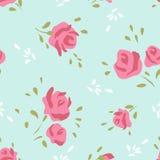 Teste padrão de flor pequeno Imagens de Stock Royalty Free