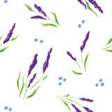 Teste padrão de flor pequeno Foto de Stock