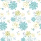 Teste padrão de flor sem emenda Imagem de Stock