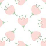 Teste padrão de flor sem emenda Fotografia de Stock