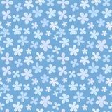Teste padrão de flor sem emenda Imagens de Stock Royalty Free