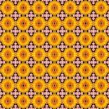 Teste padrão de flor sem emenda Fotografia de Stock Royalty Free
