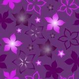 Teste padrão de flor sem emenda ilustração do vetor