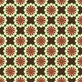 Teste padrão de flor simétrico Fotografia de Stock Royalty Free