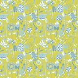 Teste padrão de flor, textura sem emenda Fotografia de Stock Royalty Free