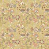 Teste padrão de flor, textura sem emenda Imagens de Stock Royalty Free