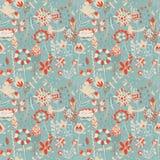 Teste padrão de flor, textura sem emenda Foto de Stock